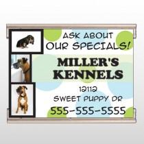 Dog Kennels 300 Track Banner