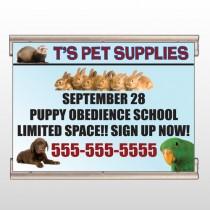Pet Supplies 305 Track Banner