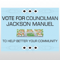 Vote Community 266 Custom Sign