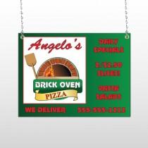 Pizza 129 Window Sign