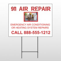 AC Repair 251 Wire Frame Sign