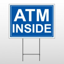 ATM 115 Wire Frame Sign