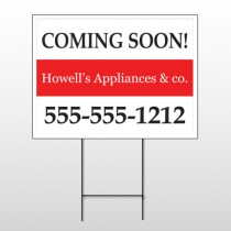 Coming Soon 88 Wire Frame Sign