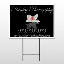 Flower 41 Wire Frame Sign