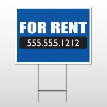 For Rent 128 Wire Frame Sign