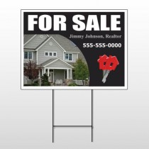 For Sale 131 Wire Frame Sign