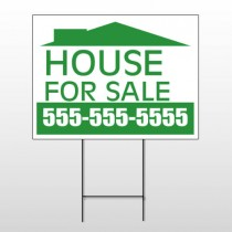 House For Sale 111 Wire Frame Sign