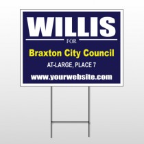 Political 13 Wire Frame Sign