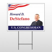 Political 18 Wire Frame Sign
