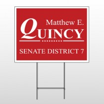 Political 19 Wire Frame Sign