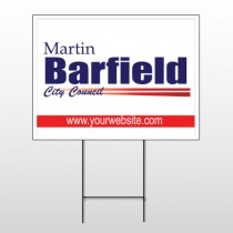 Political 22 Wire Frame Sign