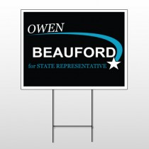 Political 23 Wire Frame Sign