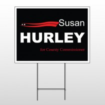 Political 24 Wire Frame Sign