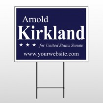 Political 25 Wire Frame Sign