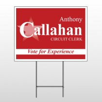 Political 27 Wire Frame Sign