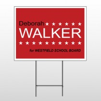 Political 29 Wire Frame Sign