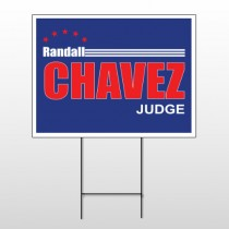 Political 33 Wire Frame Sign