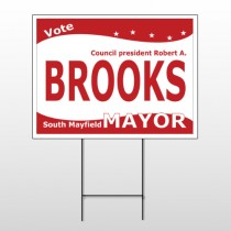 Political 34 Wire Frame Sign
