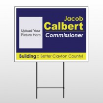 Political 42 Wire Frame Sign