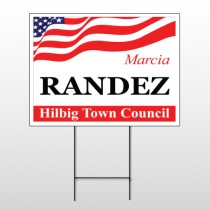 Political 49 Wire Frame Sign