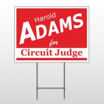 Political 52 Wire Frame Sign