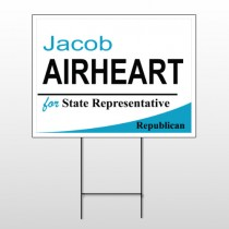 Political 53 Wire Frame Sign