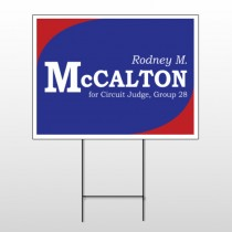 Political 55 Wire Frame Sign