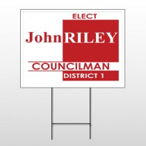 Political 57 Wire Frame Sign