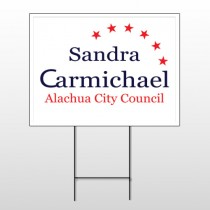 Political 59 Wire Frame Sign