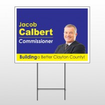 Political 68 Wire Frame Sign