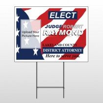 Political 8 Wire Frame Sign