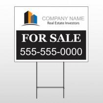 Real Estate Investors 101 Wire Frame Sign