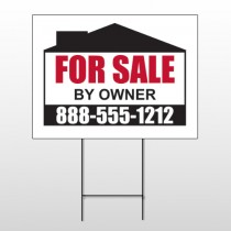 Sale By Owner 29 Wire Frame Sign