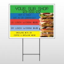 Sandwich 375 Wire Frame Sign