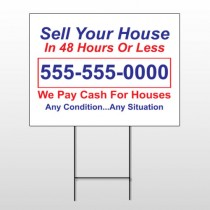 Sell Your House 152 Wire Frame Sign