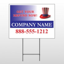 Uncle Sam Hat 156 Wire Frame Sign