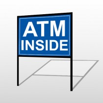 ATM 115 H-Frame Sign