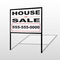 For Sale 142 H-Frame Sign