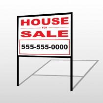 For Sale 143 H-Frame Sign