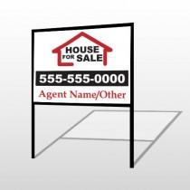 For Sale 144 H-Frame Sign