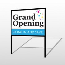 Grand Opening 89 H-Frame Sign