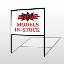 New Models 146 H-Frame Sign