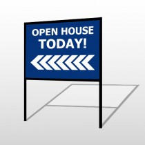 Open House 19 H-Frame Sign