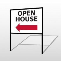 Open House 20 H-Frame Sign
