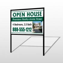 Open House 32 H-Frame Sign