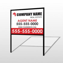 Real Estate 105 H-Frame Sign