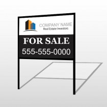 Real Estate Investors 101 H-Frame Sign