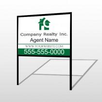 Realty 100 H-Frame Sign