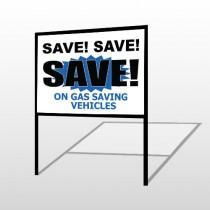 Save 149 H-Frame Sign