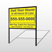 Sell Your House 151 H-Frame Sign